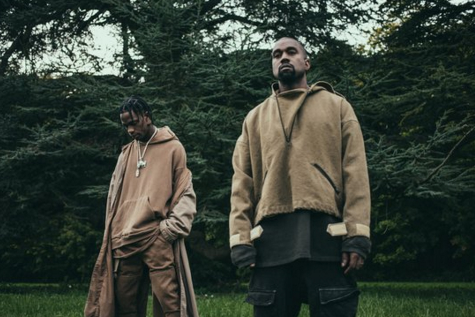 """Travis Scott featuring Kanye West """"Piss On Your Grave"""" Music Video"""