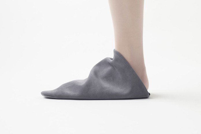 Nendo Takes Cozy to New Heights With Triangle Roomshoes