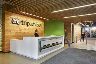 A Look Inside TripAdvisor's New Headquarters in Massachusetts