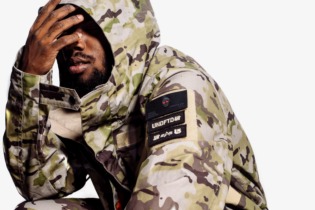"Undefeated x Alpha Industries x Burton ""Trinity"" Collection Lookbook"