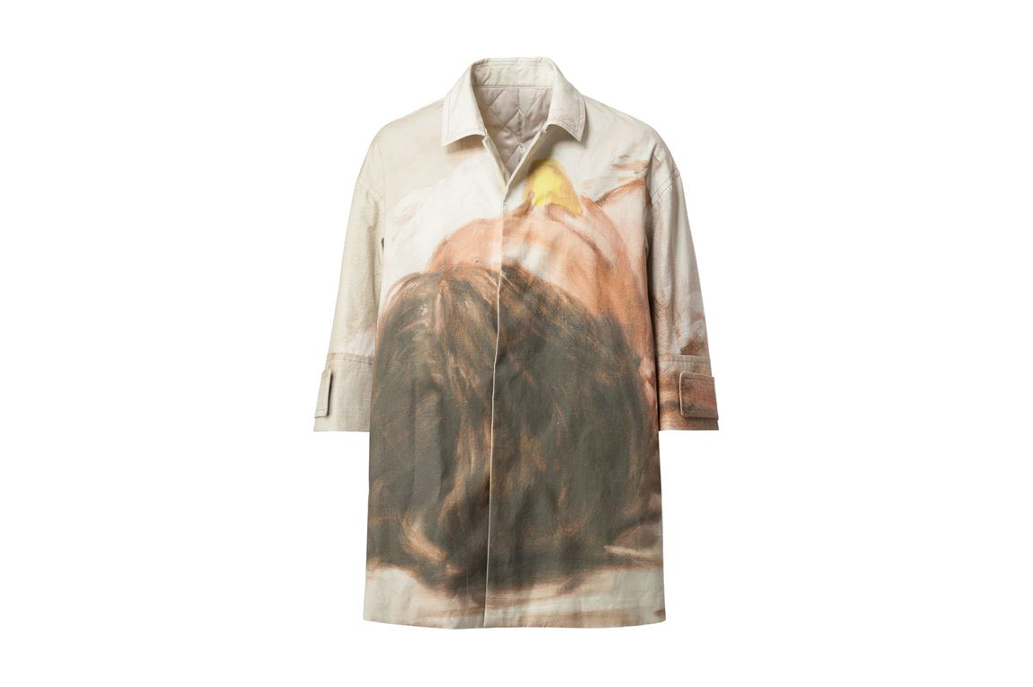 UNDERCOVER Printed Shirt Jacket
