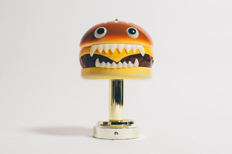 Buy the UNDERCOVER Hamburger Lamp at HBX