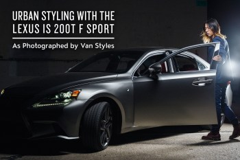 Urban Styling with the Lexus IS 200t F SPORT