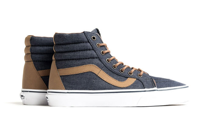 "Vans Sk8-Hi Reissue Denim C&L ""Navy"""