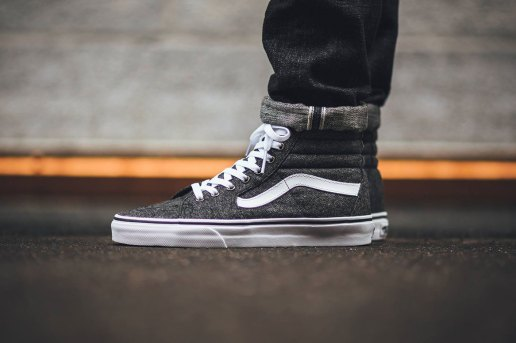 The Iconic Vans Sk8-Hi Receives a Tweed Update for the Fall