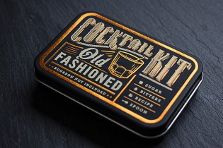 A Vintage Vibe Is Delivered With These Pocket-Sized Creative Cocktail Kits