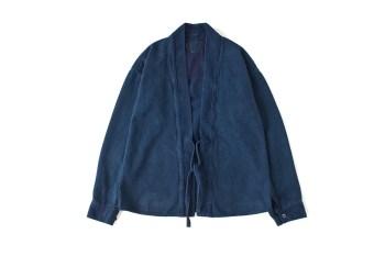 visvim 2015 Fall/Winter LHAMO 'DK.INDIGO' Shirt