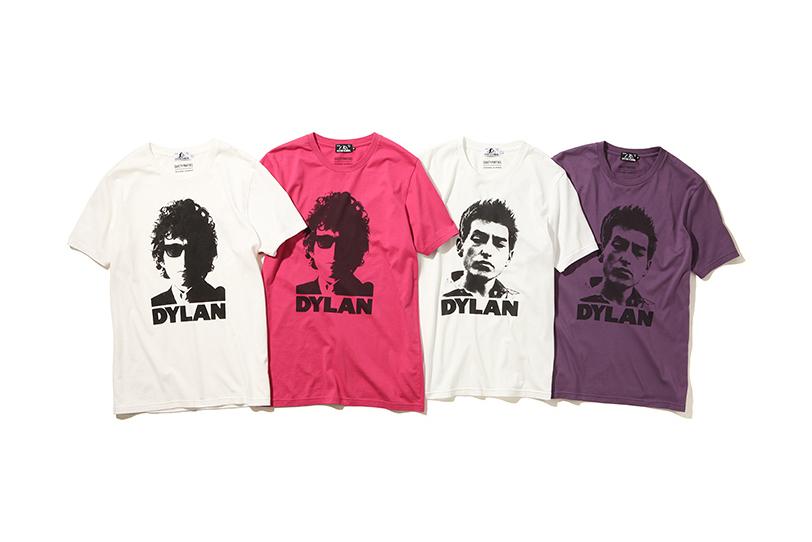 WACKO MARIA x Hysteric Glamour 2015 Fall/Winter Bob Dylan T-Shirts