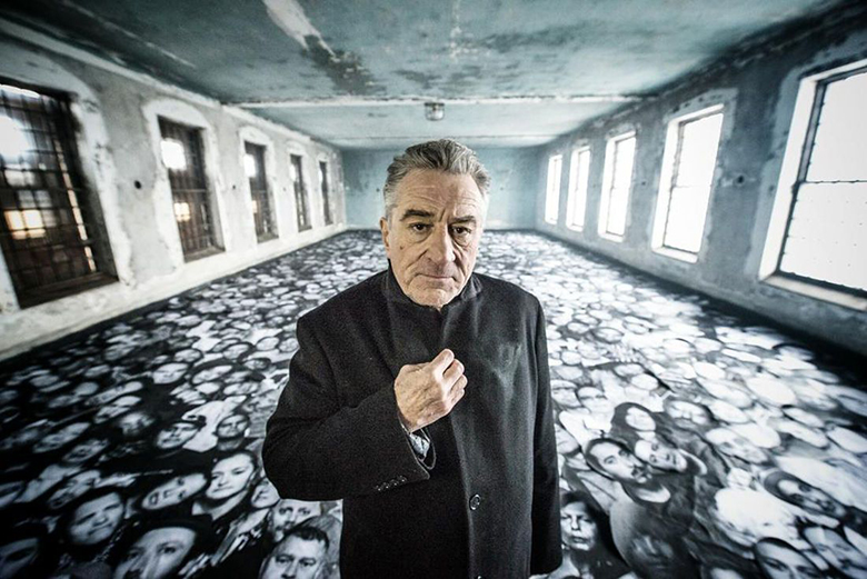 Watch the Trailer for JR's New Film 'Ellis' Starring Robert de Niro