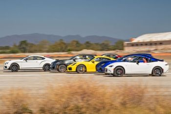 Watch 10 of the World's Fastest Cars Compete in a Massive Drag Race