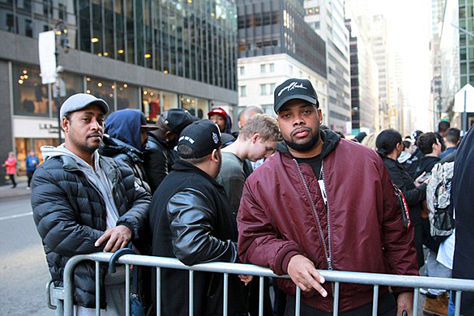 Shoppers Wait in Line for Five Hours & Spend Thousands on Yeezy Season 1 Release