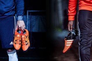 Chaos or Control: adidas's New Solar Orange Colorway on the Pitch and on the Streets of London