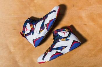 "A Closer Look at the Air Jordan 7 Retro ""Nothing But Net"""