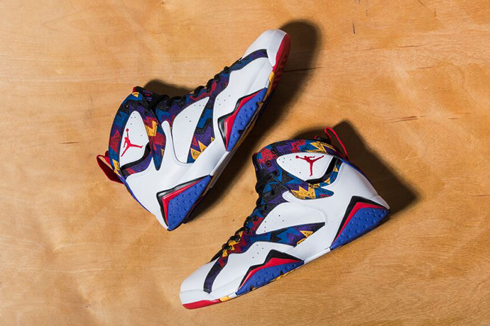 "A Closer Look at the Air Jordan 7 Retro ""Nothing But Net"""