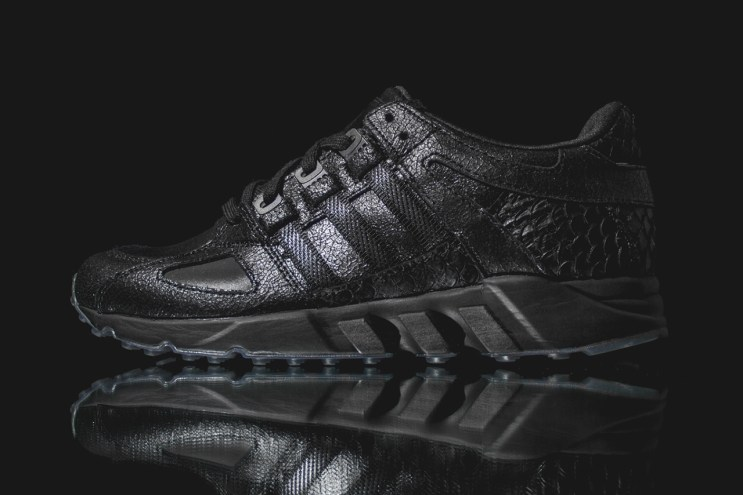 "A Closer Look at the Pusha T x adidas EQT Guidance Running '93 ""Black Market"""
