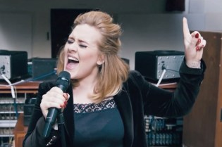 "Adele Debuts ""When We Were Young"" Live at The Church Studios"