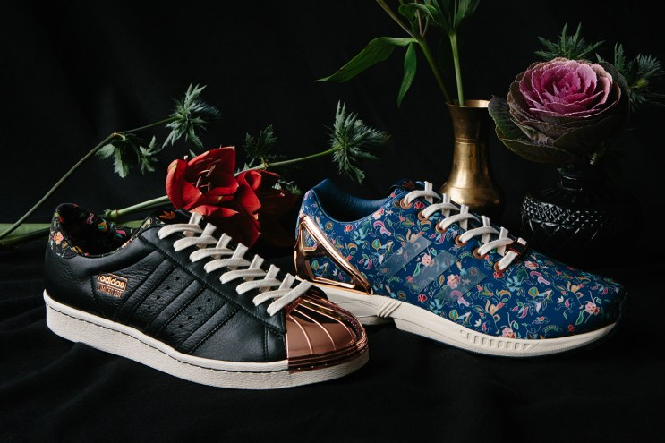Limited Edt x adidas Consortium Superstar 80v & ZX Flux Pack