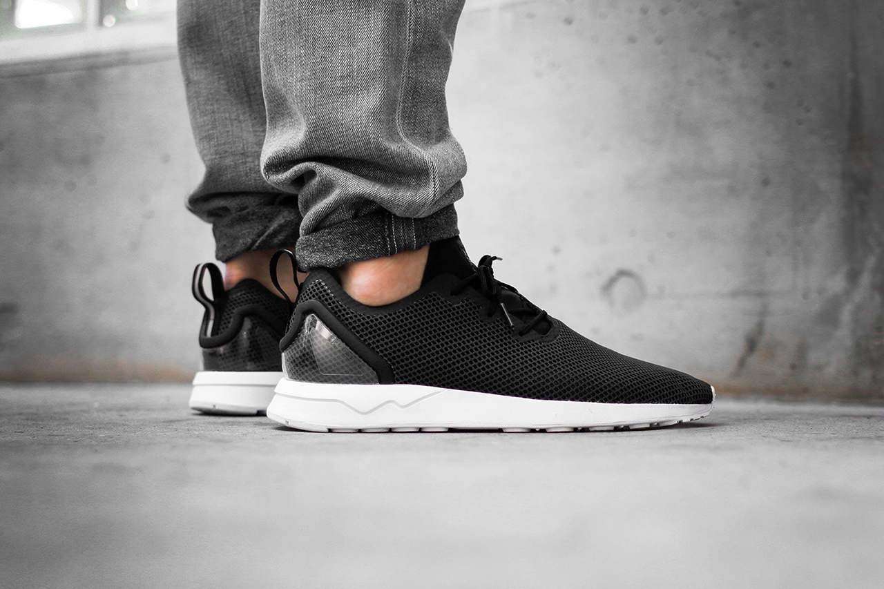adidas Originals ZX FLUX PLUS Sneakers basse utility grey/white