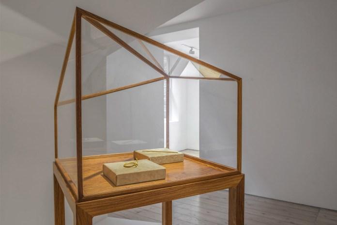 "Ai Weiwei ""Rebar in Gold"" @ Elisabetta Cipriani Gallery"