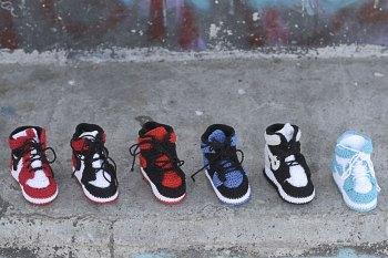 #hypebeastkids Picasso Babe Drop a Series of Air Jordan 1s for Newborns
