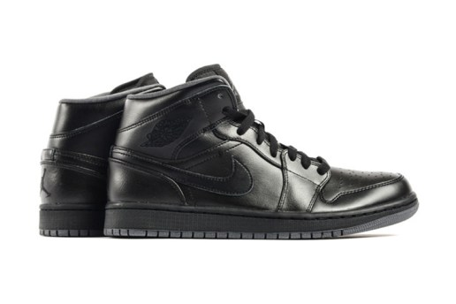 Air Jordan 1 Mid Black/Dark Grey