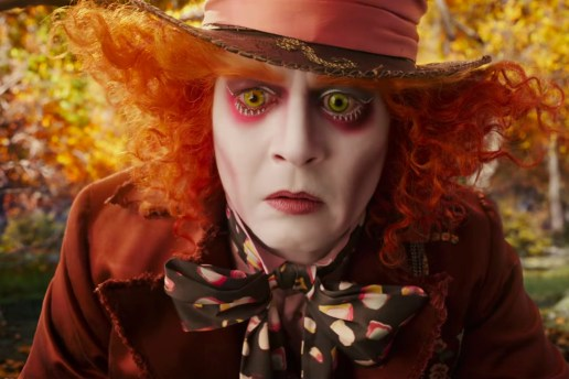 'Alice Through the Looking Glass' Trailer Starring Johnny Depp & Mia Wasikowska