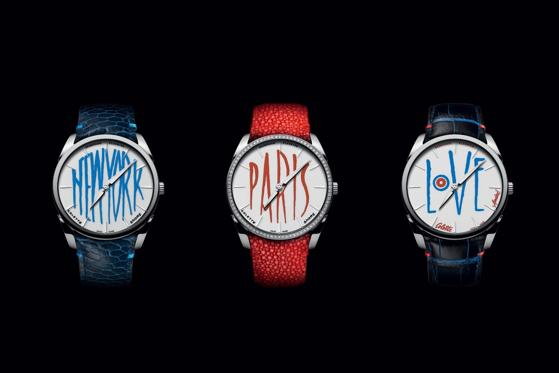 André Saravia Provides Artistic Vision for colette x Fleurier Watches Collaboration