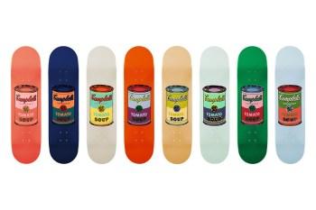 Limited Edition Andy Warhol Skateboard Decks