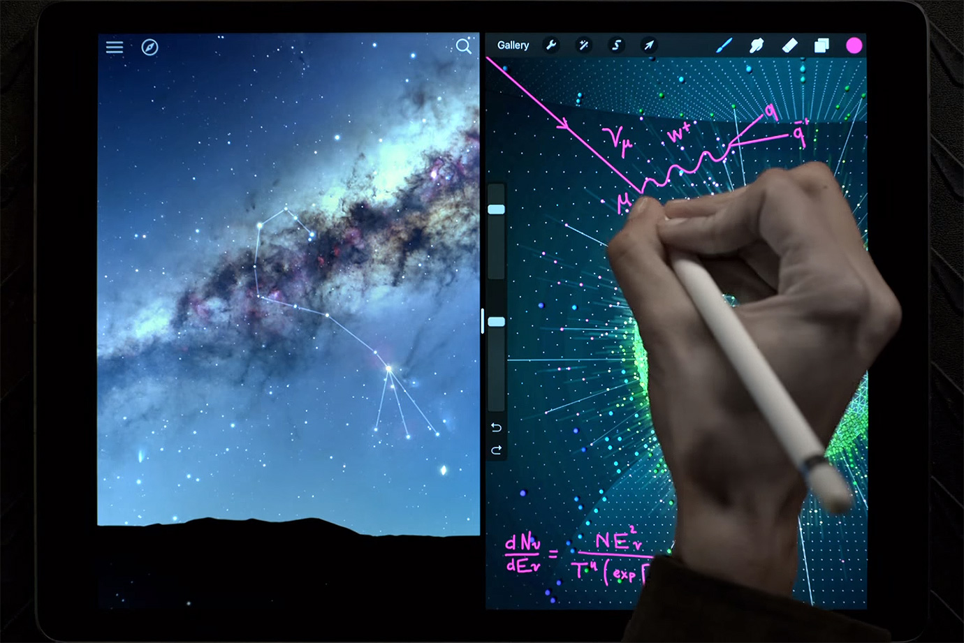 Explore the Universe With Apple's iPad Pro