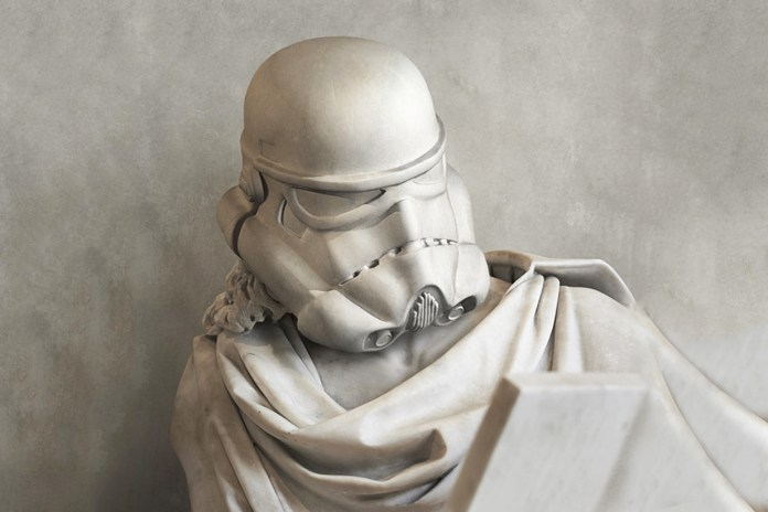 Travis Durden Reimagines 'Star Wars' Characters as Classical Greek Statues