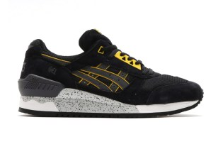 ASICS GEL-Respector Black/Dark Grey