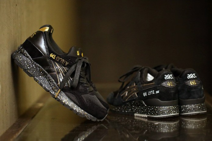 atmos Transfers Its ASICS GEL-Lyte III Black/Gold Colorway to an Upcoming GEL-Lyte V