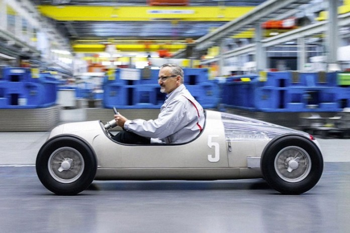 Audi Has 3D-Printed a 1936 Grand Prix Car