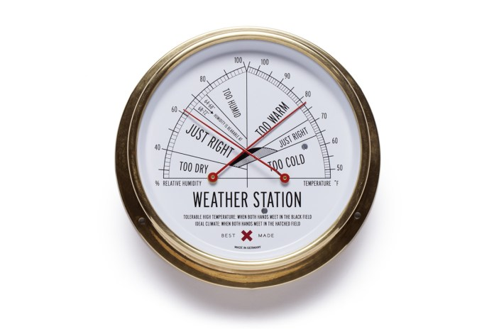 Best Made's Weather Station Tells the Weather the Old-Fashioned Way