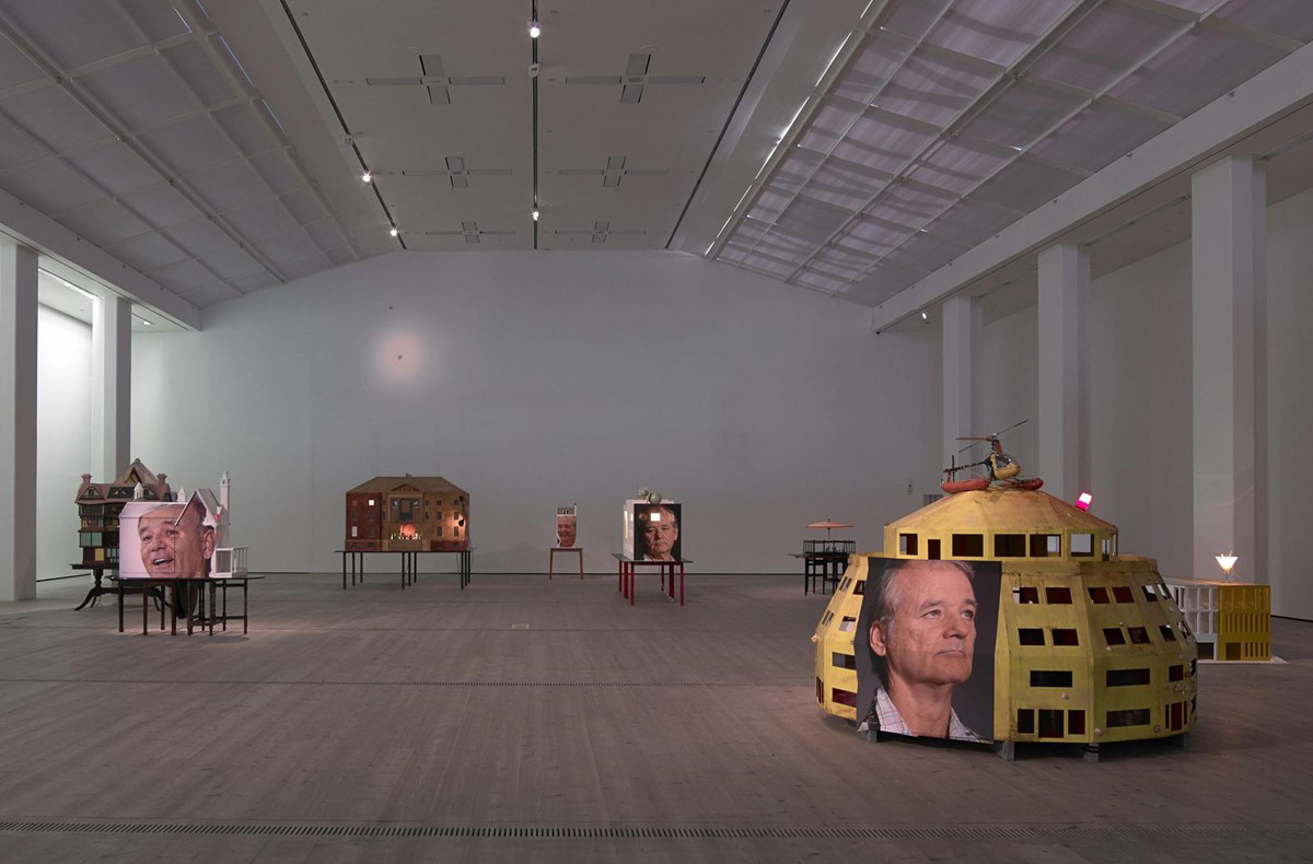 There Is a Bill Murray Art Exhibition in the UK