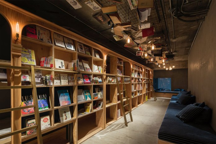 Read Yourself to Sleep at the Book and Bed Hostel