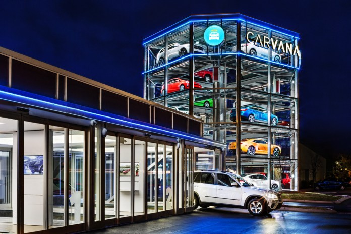 Carvana Introduces a Robotic Automotive Vending Machine
