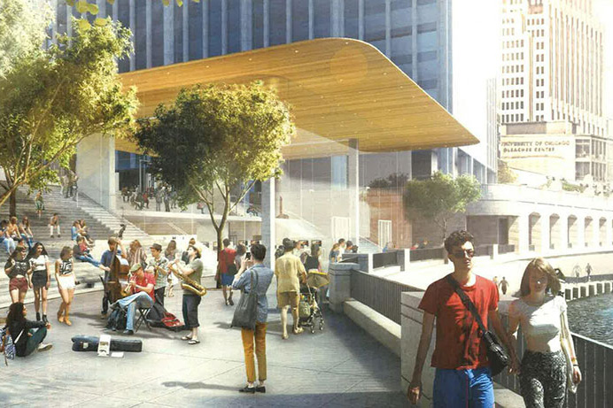 Take a Sneak Peek at Chicago's Upcoming Riverfront Apple Store