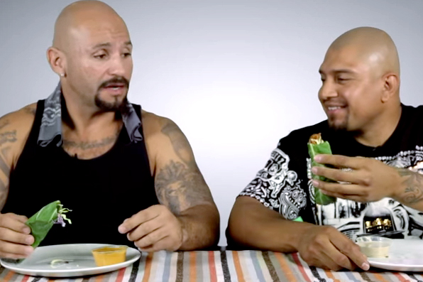 'Cholos Try' Vegan Episode 2: Wraps and Goji Berries