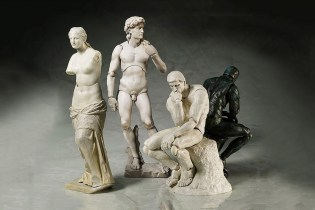 Classical Greco-Roman Sculptures Are Transformed Into Action Figures