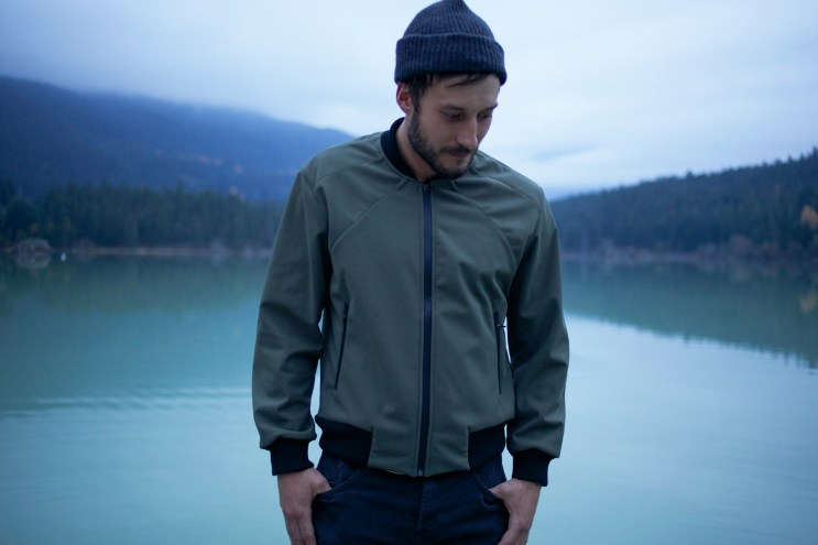 COLDSMOKE Tech Bomber With Japanese Textile Waterproofing