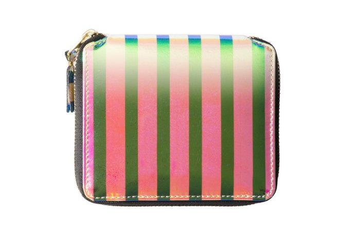 "COMME des GARÇONS 2015 Fall/Winter ""Crazy Stripe"" Wallets"