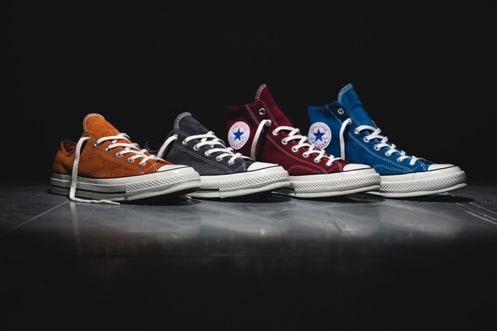 "Converse Chuck Taylor All Star 70s ""Suede"" Collection"