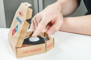Now There's a Single Button to Order Domino's Pizza