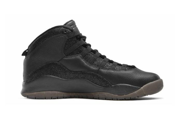 "The OVO x Air Jordan 10 ""Black"" Will Release in 2016"