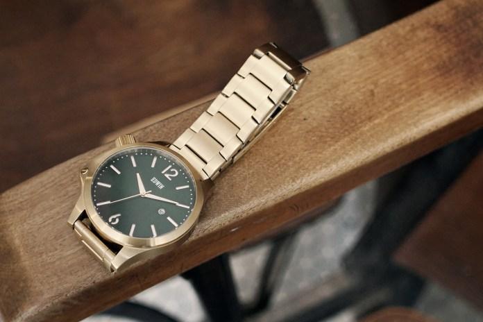 Edwin Mixes Japanese Denim Culture Into Watch Design