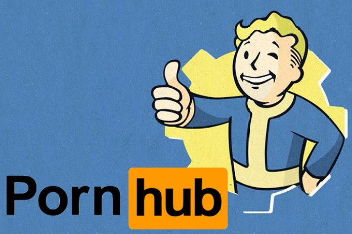 Fallout 4's Release Affected PornHub Traffic
