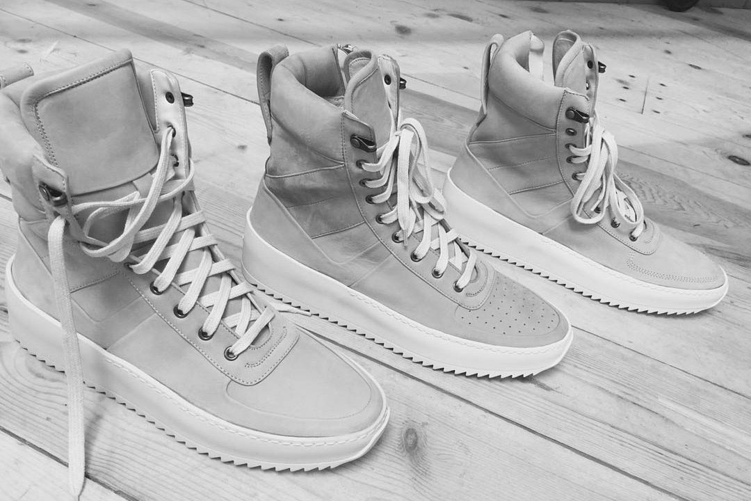 A First Look at Fear of God's Debut Footwear Collection