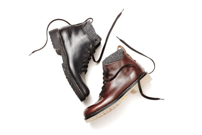 FEIT Semi-Cordovan 8-Eye Lace Up Boot