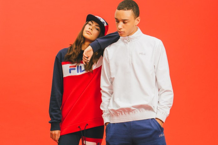 "FILA 2016 Spring/Summer ""Black Line"" Collection"